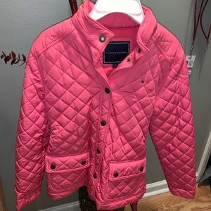 Pink tommy jacket